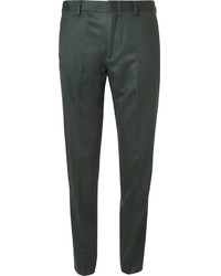 J.Crew Green Ludlow Regular Fit Wool Suit Trousers