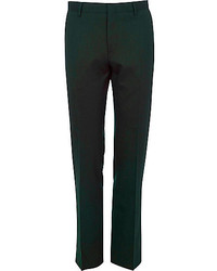 Green suit pants medium 237964