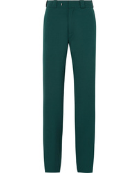 Vetements High Heel Cutout Twill Straight Leg Pants