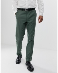 ASOS DESIGN Slim Suit Trouser In Sage Green