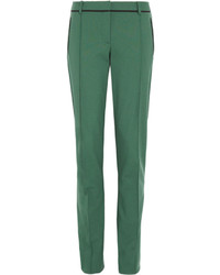 Jason Wu Stretch Wool Blend Tapered Pants