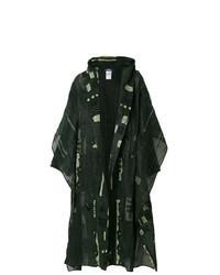 Dark Green Duster Coat