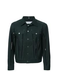 Yang Li Embellished Chest Pocket Jacket
