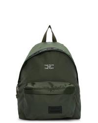 Eastpak Green Neighbourhood Edition Padded Pakr Backpack