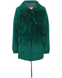 No.21 No21 Feather Applique Jacket