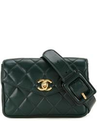 Chanel Vintage Quilted Belt Bag