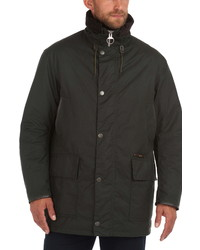 Barbour Supa Border Waxed Cotton Jacket