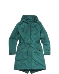 Dark Green Fishtail Parka