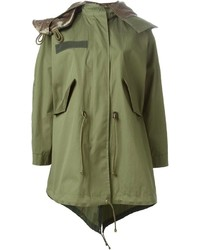 Sacai luck oversized parka medium 190704
