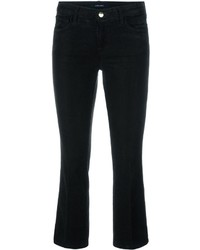J Brand Flared Cropped Trousers