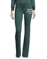Wildfox Couture Wildfox Sorry I Cant Bootcut Pants