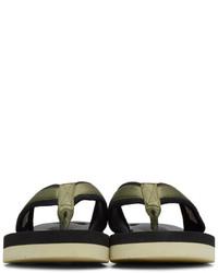 c8f2f1c57c46 ... Suicoke Green Tono V2 Flip Flop Sandals ...