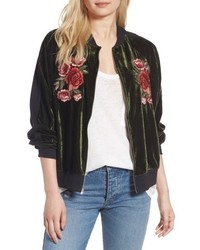 Floral embroidered bomber medium 4953255