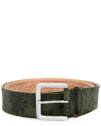 Etro Floral Buckled Belt