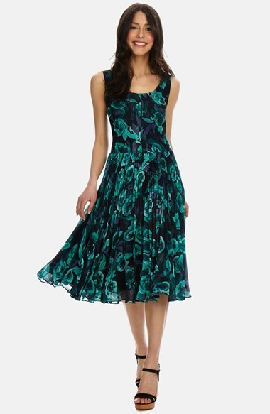 Floral Chiffon Dresses for Women