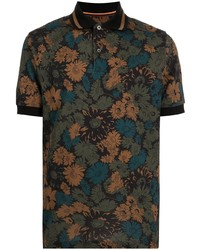 Paul Smith Archive Floral Print Polo Shirt