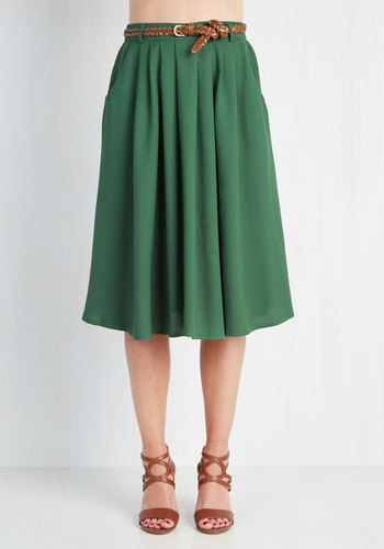 293eaa783 Hot And Delicious Breathtaking Tiger Lilies Skirt In Stem Green, $49 ...