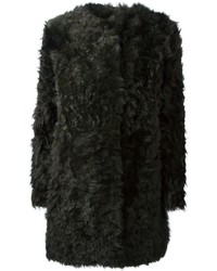 Dark Green Fur Coat