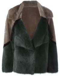 Liska Short Mink Fur Coat