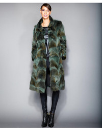 Plus size coyote fur coat medium 129481