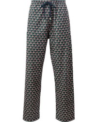 Gucci Geometric Print Jogging Pants