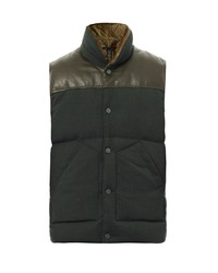 Marc by Marc Jacobs Leather Panel Gilet