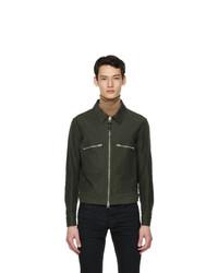 Tom Ford Khaki Brushed Cotton Jacket