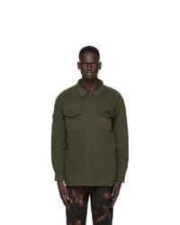 032c Khaki Twill Military Shirt