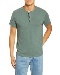 Dark Green Henley Shirt