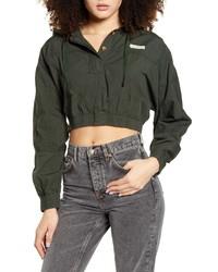 BDG Urban Outfitters Crop Poplin Jacket