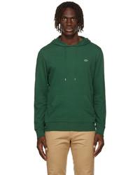 Lacoste Green Jersey Logo Hoodie