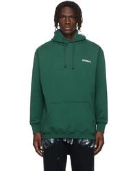 Vetements Green Logo Hoodie