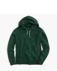 J.Crew Tall Washed French Terry Pullover Hoodie
