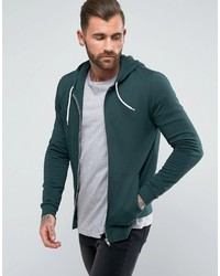 Men s Dark Green Hoodies by Asos  5af06cc97