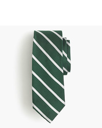 J.Crew English Silk Repp Tie In Thin Stripe