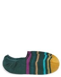 Paul Smith Stripe No Show Socks