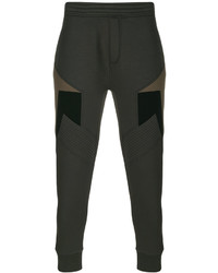 Neil Barrett Stripe Panel Sweatpants
