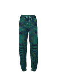 M Missoni Striped Woven Track Pants