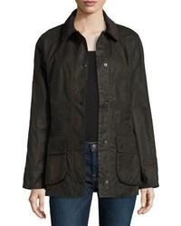Classic beadnell wax utility jacket olive medium 4948676