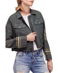Crop military jacket medium 5170155