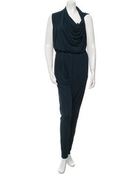 Lanvin Asymmetrical Draped Jumpsuit