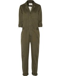 Current/Elliott The Mechanic Cotton Twill Jumpsuit