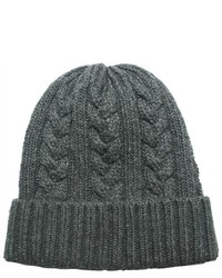 Dahlia Cable Knit Solid Color Beanie Hat