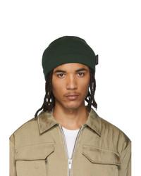 AFFIX Green Knit Beanie