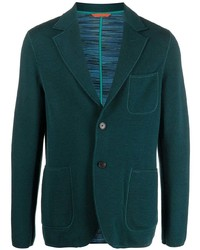 Missoni Knitted Single Breasted Blazer