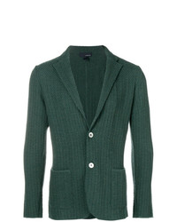 Lardini Patterned Knit Blazer