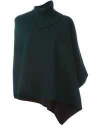 Marni Asymmetric Knitted Cape
