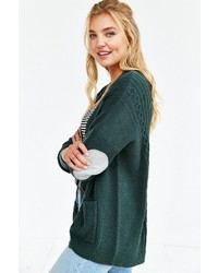 ... BDG Cayla Elbow Patch Cardigan 046bad6c8