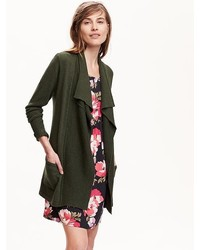 Old Navy Handkerchief Hem Open Front Cardigan