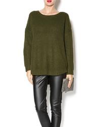 Knot sisters olive sweater medium 123680